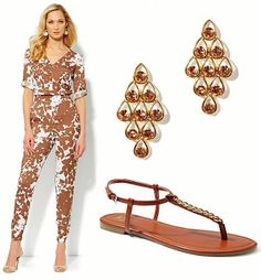 There are countless ways to rock the jumpsuit trend. No matter the season or occasion, theres always a look you can pull off by wearing one! Tobacco, bark, coffee—Call it what you want but brown is emerging as the big colour story this season.