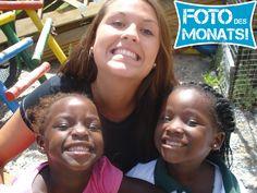 Foto des Monats Januar 2014! Michelle im #Freiwilligenprojekt Sozialarbeit mit Kindern in #Suedafrika