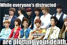 Key and Taemin are plotting your death :P