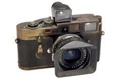Leica M2 camera used by photojournalist Gerard Klijn (Dutch, 1940-2013)