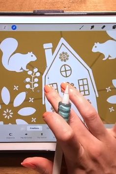 Modern Folk Art Illustrations on Your iPad in Procreate + Free Folk Art Stamp Brushes and Templates Design Tutorials, Art Tutorials, Dibujos Zentangle Art, Inkscape Tutorials, Art Illustrations, Illustration Art, Art Nouveau Design, Ipad Art, Digital Art Tutorial