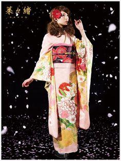 菜々緒新作振袖 kimono #furisode