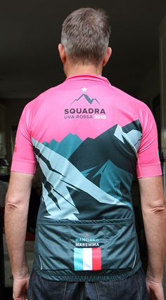 Kit for our group trip to Tuscany. Giro inspired design. 16b447c71