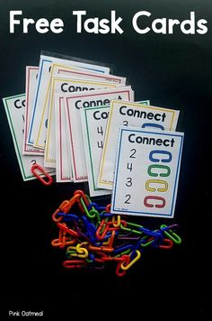 How To Produce Elementary School Much More Enjoyment Free Task Cards For Working On Fine Motor Skills And Number Recognition. Ideal For Preschool, Kindergarten, Or Occupational Therapy Interventions. Get These Free Task Cards Today Numbers Preschool, Kindergarten Centers, Math Numbers, Preschool Classroom, Autism Classroom, Montessori Preschool, Kindergarten Independent Work, Preschool Library Center, Preschool Learning Centers