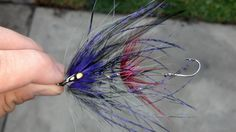 purple and claret intruder - Spey Pages #flyting #flyfishing #steelhead