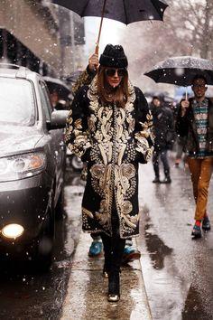 Fotos de street style en Milan Fashion Week: Anna Dello Russo