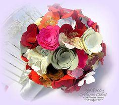 MagicArt / Rozkvitnutá elegancia... Paper Flowers, Bouquet, Elegance Fashion, Bouquets, Floral Arrangements, Nosegay