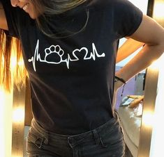End Friday=> This amazing Tshirt White For Tshirt Design Minimalist will look absolutely fantastic. - Trend Design Home App 2019 Couple Shirts, Shirts For Girls, Vegan Clothing, Dog Shirt, Timeless Design, Shirt Designs, Cool Outfits, Stylish, Trending Outfits