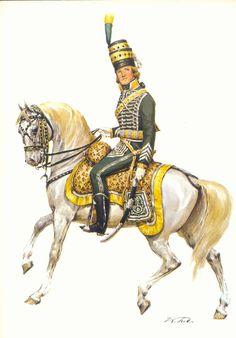 1814 Lanciers de la Garde Royale