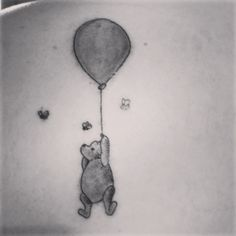 Winnie the Pooh tattoo. I'd get tigger because I remember when I watchedthe rigged movie at my grandmas house, my sister and I and Grandma were all in her bed, under the covers, watching the movie together <3 I miss you grandma