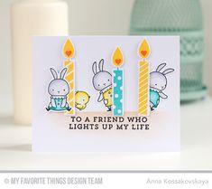 Make A Wish Card Kit - Anna Kossakovskaya   #mftstamps