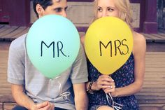 this would be so adorable for wedding announcements to family and friends that didn't or couldn't make it to the ceremony