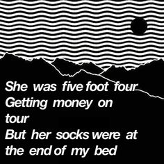 she was five foot four getting money on tour but her socks were at the end of my bed (baby came home/ 2 valentines)