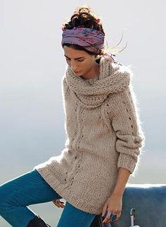 Ravelry: 561 - Sweater pattern by Bergère de France
