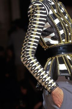Wow, what detailing....Balmain Fall 2014