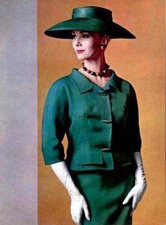 Photographer Philippe Pottier, Suit by Hubert de Givenchy, 1960 | by dovima2010
