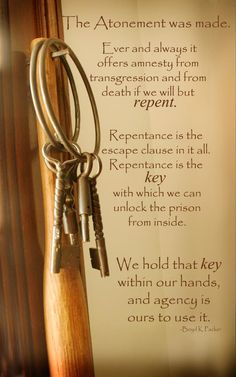 We Hold the Key | Creative LDS Quotes