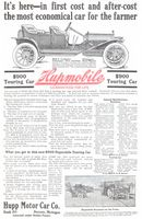 Hupmobile Touring Car 1910 Ad Picture