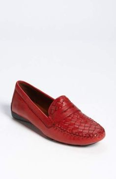 Love this Red | Robert Zur 'Petra' Driving Shoe