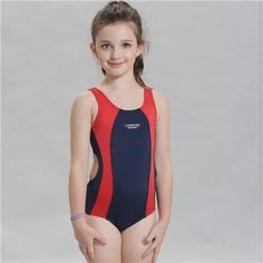 bec7060935 New Professional Swimsuit Children   Kid One-Piece Swimming Suit   Sports  Racing Swimwear