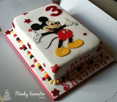 Mickey Mouse Cake Flickr Photo Sharing