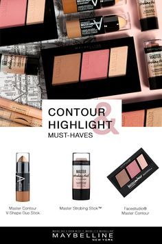 Maybelline New York has the must-have drugstore products you need for contouring…