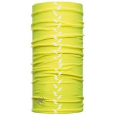For late-night and early-morning rides and runs, Reflective BUFF® products have a retro-reflective strip design that glows white when illuminated by approaching vehicles. Headband Men, Headbands, Buff Original, Headgear, Multifunctional, The Originals, Yellow, Running, Early Morning