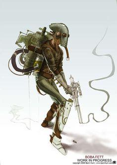 Стимпанк Звездные Войны: Иллюстрации Из Бьорн Ураг