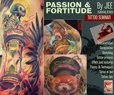 André Rodrigues Tattoo: SEMINARIO DE TATUAGEM DO JEE SAYALERO no LADO B ES...