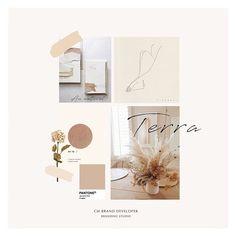 Neutral Organic Branding Moodboard via Website Design Layout, Book Design Layout, Album Design, Website Design Inspiration, Layout Inspiration, Inspiration Boards, Portfolio Design, Portfolio Layout, Branding Design