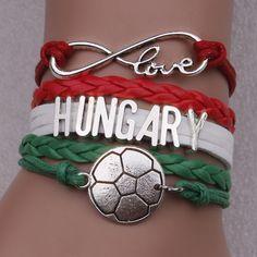 Hungary Softball Bracelet Softball Bracelet, Hungary, Bracelets, Motivational, Jewelry, Products, Jewlery, Bijoux, Schmuck