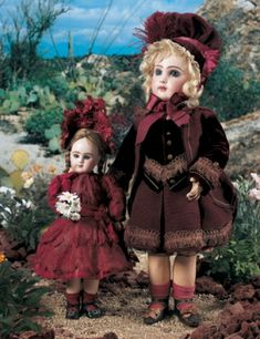 For the Love of Dolls, The Mildred Seeley Collection: 192 French Bisque Bebe Jumeau, Size 9