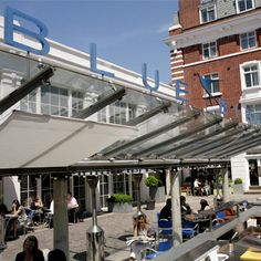 The Bluebird Cafe, Chelsea - love a spot of lunch here --- #london #uk #travel  http://travelerguides.net/