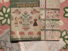 Traditional Embroidery of Portugal - Anchor Embroidery Book nº 1 by Agulha Não Pica, via Flickr