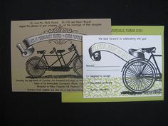 A Bicycle Theme for Your Green Wedding