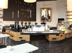 Great coffee and atmosphere - corner of Central and LW Blvd in Kirkland.