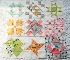 Why Not Sew?: Hand Pieced Quilt-A-Long Block #10 ~ Log Cabin