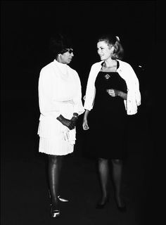 Grace Kelly & Josephine Baker- would've been an honor to dine with them. #convivial #women