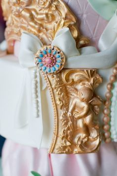 Marie Antoinette Wedding Style at Powderham Castle, Devon