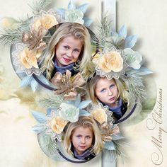 The Magic of December Scrapbook Designs, Floral Wreath, Merry, Wreaths, December, Magic, Home Decor, Homemade Home Decor, Flower Crowns