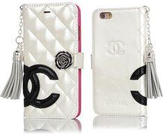 ブランド シャネル iphone6s 専用ケース 手帳型 ミラー付きアイフォン6sケース革製 Chanel iphone6s plus ケースストラップ付き