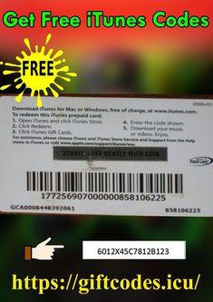 Itunes Gift Cards, Free Gift Cards, Free Gifts, Gift Card Deals, Gift Card Balance, Gift Card Generator, Code Free, Music Gifts, Amazon Gifts