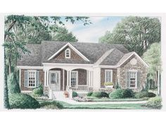 Build your ideal home with this Traditional house plan with 3 bedrooms(s), 2 bathroom(s), 1 story, and 2028 total square feet from Eplans exclusive assortment of house plans.