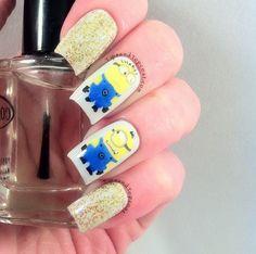 .Despicable Me Nail Art