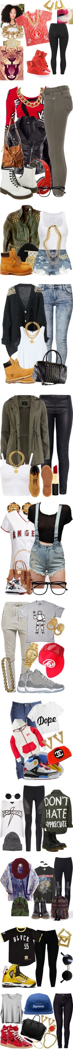 """""""swag"""" by mrkr-lawson ❤ liked on Polyvore"""