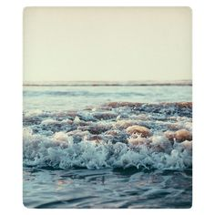 Pacific Ocean Fleece Throw