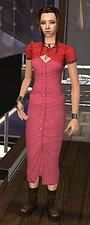 Mod The Sims - Aeris OUTFIT Short Sleeve Dresses, Dresses With Sleeves, Sims, Halloween, Outfits, Vintage, Style, Fashion, Swag