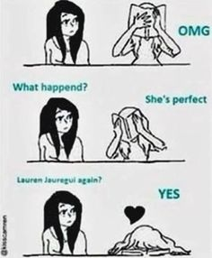 #wattpad #random Contains Fifth Harmony Memes I found in the internet I wanna share if easily offended then please leave. Definitely not mine Credits to the owners Highest rank #1