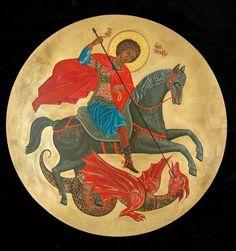 Αγ.Γεωργιος Ο Μεγαλομαρτυρας Και Τροπαιοφορος (275 - 303) ___april 23     ( Whispers of an Immortalist: Icons of Martyrs 3