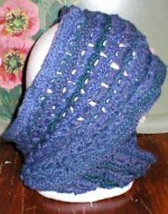 Ravelry: Broomstick Lace Crochet Halo Scarf pattern by Karen Glasgow Follett..free